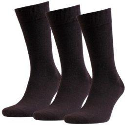 Amanda Christensen Strumpor 3P Grade Merino Wool Sock Mörkbrun Strl 39/42