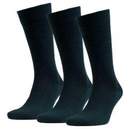 Amanda Christensen Strumpor 3P Grade Merino Wool Sock Mörkgrön Strl 43/46