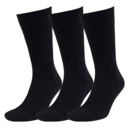 Amanda Christensen Strumpor 3P True Ankle Soft Top Sock Svart Strl 43/46 Herr