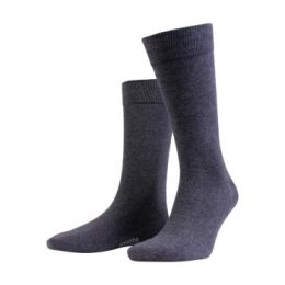 Amanda Christensen Strumpor True Combed Cotton Sock Antracit Strl 39/42
