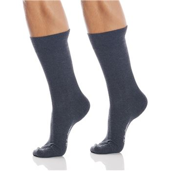 Burlington Strumpor 2P Everyday Cotton Sock Grå Strl 40/46 Herr