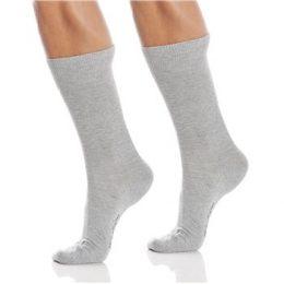 Burlington Strumpor 2P Everyday Cotton Sock Ljusgrå Strl 40/46 Herr