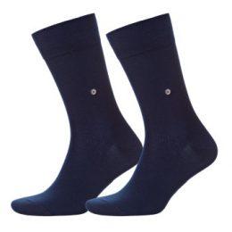 Burlington Strumpor 2P Everyday Cotton Sock Marin Strl 40/46 Herr