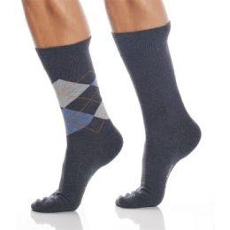 Burlington Strumpor 2P Everyday Mix Cotton Sock Grå Strl 40/46 Herr