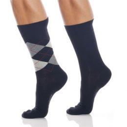 Burlington Strumpor 2P Everyday Mix Cotton Sock Svart Strl 40/46 Herr