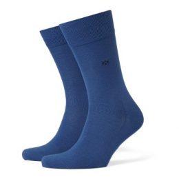 Burlington Strumpor Dublin Cotton Sock Blå bomull Strl 40/46 Herr