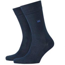 Burlington Strumpor Dublin Cotton Sock Marin bomull Strl 40/46 Herr