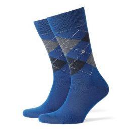 Burlington Strumpor Edinburgh Wool Sock Blå Strl 40/46 Herr