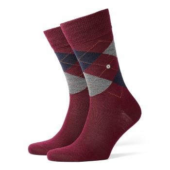 Burlington Strumpor Edinburgh Wool Sock Mörkröd Strl 40/46 Herr