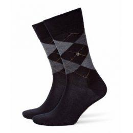 Burlington Strumpor Edinburgh Wool Sock Svart Strl 40/46 Herr