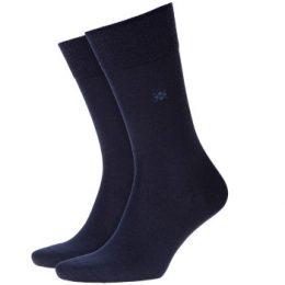 Burlington Strumpor Leeds Wool Sock Marin Strl 40/46 Herr