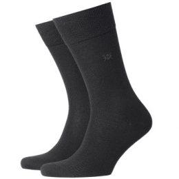 Burlington Strumpor Leeds Wool Sock Svart Strl 40/46 Herr