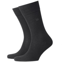 Burlington Strumpor Leeds Wool Sock Svart Strl 46/50 Herr