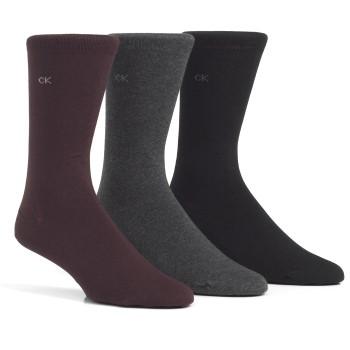 Calvin Klein 3-pack Eric Cotton Flat Knit Socks