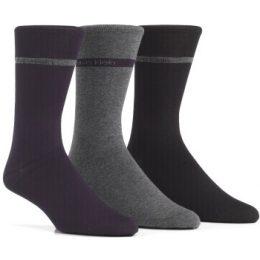 Calvin Klein Strumpor 3P Adam Bamboo Socks Marin Strl 40/46 Herr