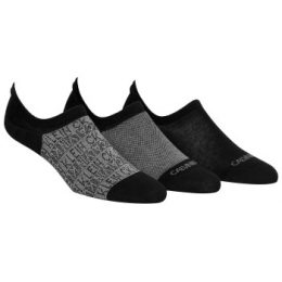 Calvin Klein Strumpor 3P Troy Quarter Sock Svart/Grå Strl 40/46 Herr