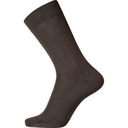 Egtved Strumpor Cotton Socks Mörkbrun Strl 40/45