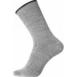 Egtved Strumpor Wool No Elastic Rib Socks Grå Strl 40/45