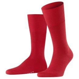 Falke Strumpor Airport Sock Röd Strl 41/42 Herr