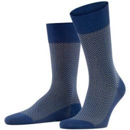 Falke Strumpor Uptown Tie Sock Blå Strl 43/44 Herr