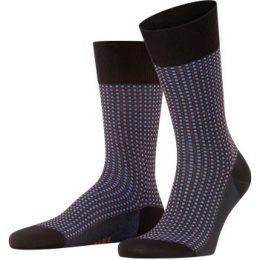 Falke Strumpor Uptown Tie Sock Svart Strl 39/40 Herr