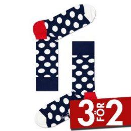 Happy socks Strumpor Big Dot Sock Marin Strl 36/40