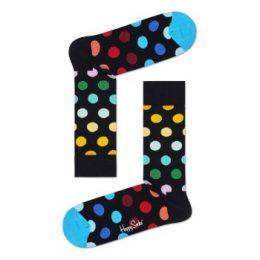 Happy socks Strumpor Big Dot Sock Svart mönstrad Strl 41/46