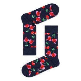 Happy socks Strumpor Cherry Dog Sock Marin mönstrad bomull Strl 36/40