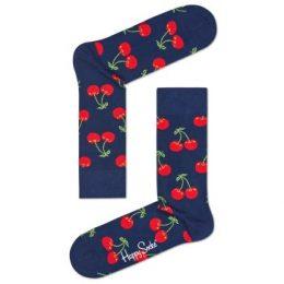Happy socks Strumpor Cherry Sock Blå Mönstrad Strl 41/46