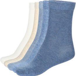 Pierre Robert Strumpor 5P Eco Basic Socks Blå Strl 37/40