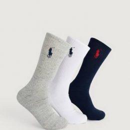 Polo Ralph Lauren 3-Pack Big Pony Sock Multi