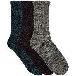 Resteröds Strumpor 3P Recycled Socks Flerfärgad Strl 40/45