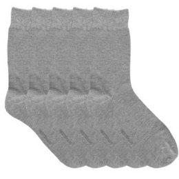 Resteröds Strumpor 5P Bamboo Socks Ljusgrå Strl 40/45 Herr