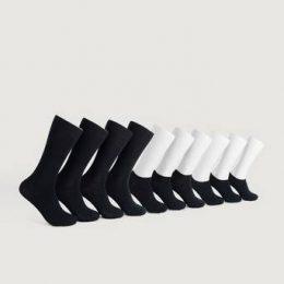 Studio Total Strumpor 10-pack Mixed Socks Svart