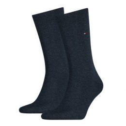 Tommy Hilfiger Strumpor 2P Men Classic Sock Jeansblå Strl 39/42 Herr