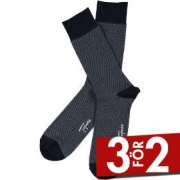Topeco Men Sock Mercerized Cotton Dots