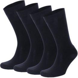 Topeco Strumpor 4P Men Socks Plain Marin Strl 41/45 Herr