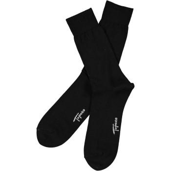 Topeco Strumpor Men Socks Plain Dress Sock Svart Strl 41/45 Herr